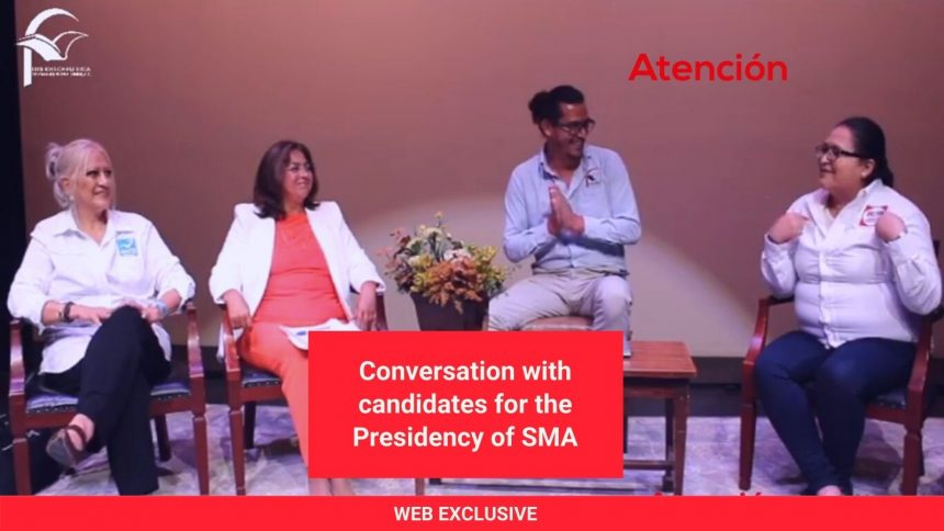 Conversation with candidates for the Presidency of SMA
