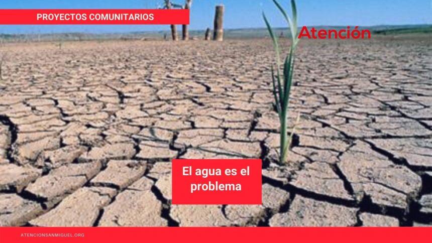 El agua es el problema