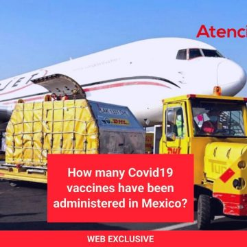 How many Covid19 vaccines have been administered in Mexico?