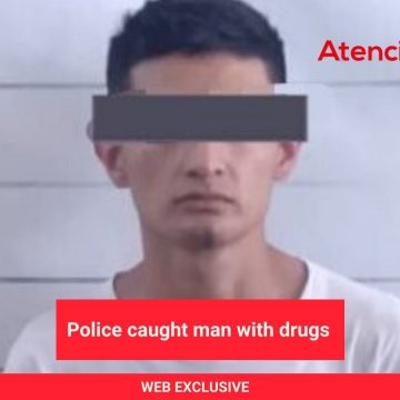 Police caught man with drugs, he had 44 criminal reports