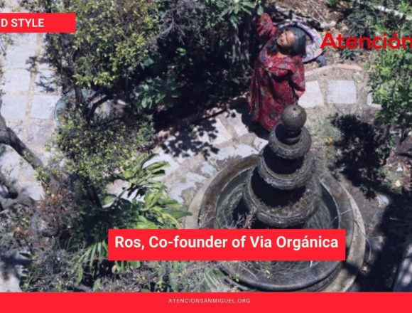 The Perfect Day of Ros, Co-founder of Via Orgánica