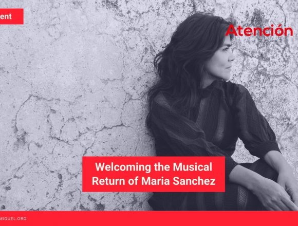 Welcoming the Musical Return of Maria Sanchez