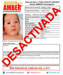 Alerta Amber Desactivada