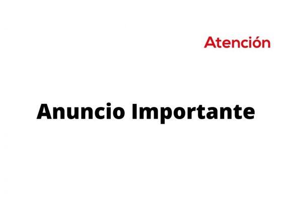 Anuncio Importante de La Biblioteca Publica de San Miguel de Allende, A.C.