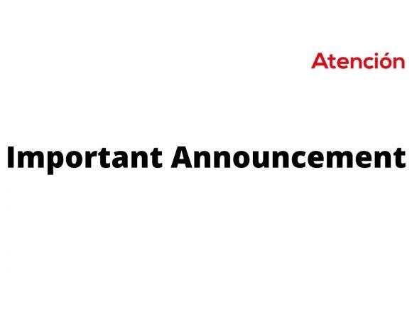 Important Announcement from Biblioteca Pública de San Miguel de Allende A.C.