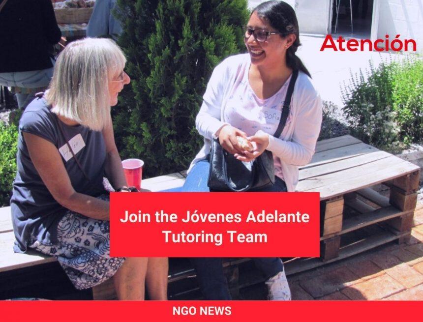 Join the Jóvenes Adelante Tutoring Team