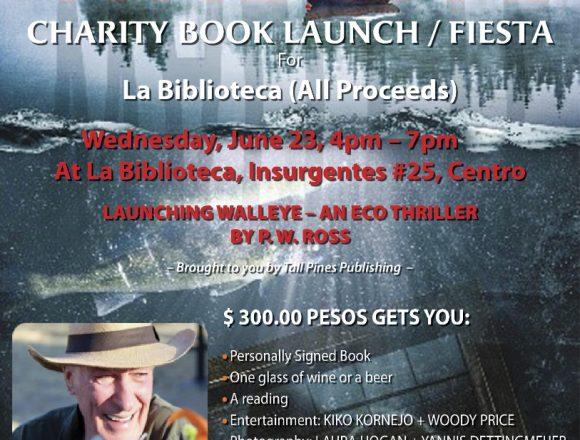 Benefit Book Launch/Fiesta