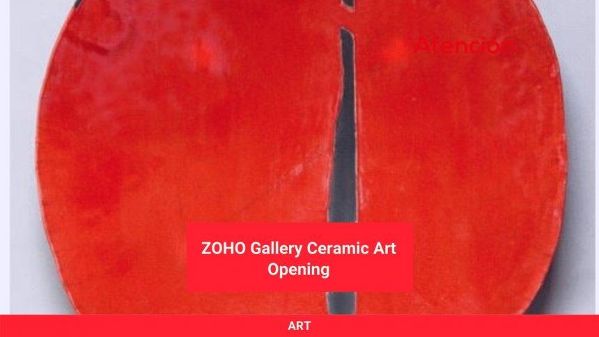 ZOHO Gallery Ceramic Art Opening