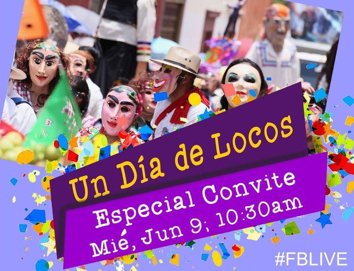 Convite de Locos Broadcast FB Live