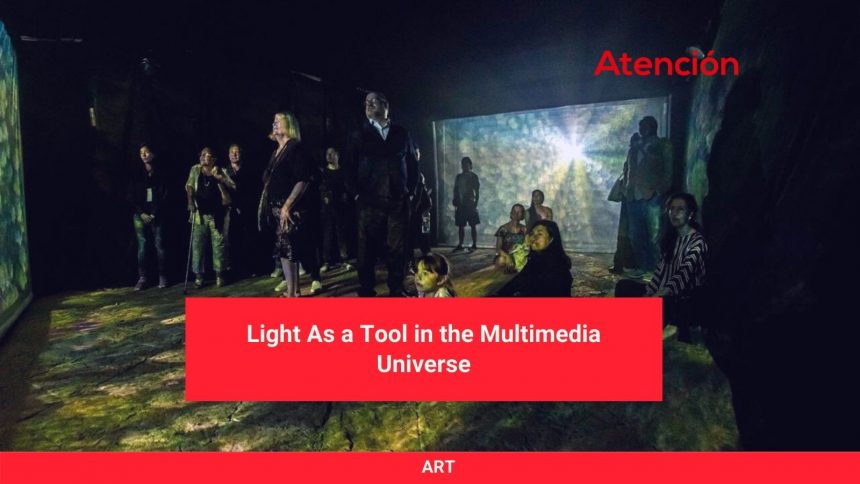 Light As a Tool in the Multimedia Universe