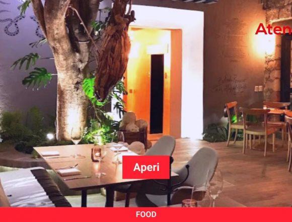 Aperi, Open Kitchen