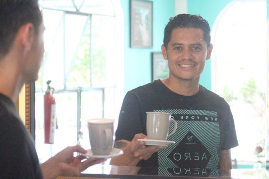 Try Café La Palma, in Casa Blanca