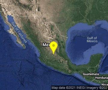 Fin de semana de sismos en Guanajuato