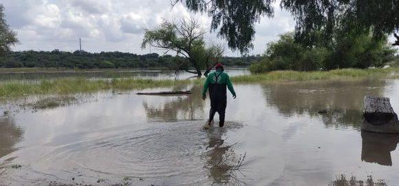 Bordo causó aumento de niveles de agua